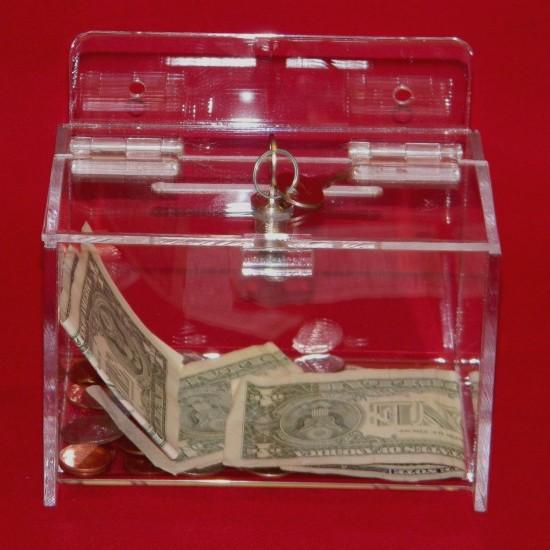 Wall Mount Donation Box 1
