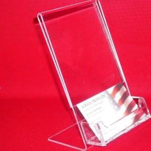 Slantback Picture Frame With Business Card Holder 1