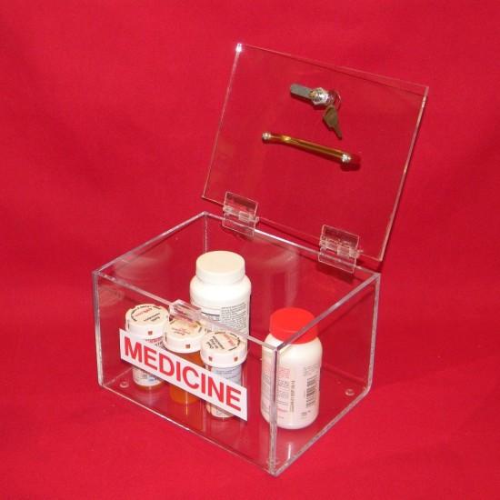 Large Medicine Lock Box 3