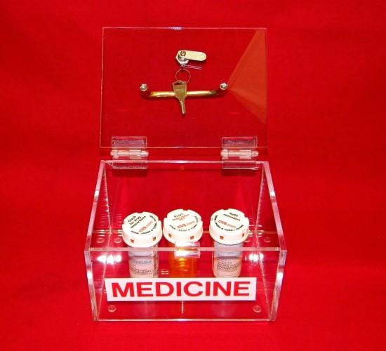 Small Medicine Lock Box 3