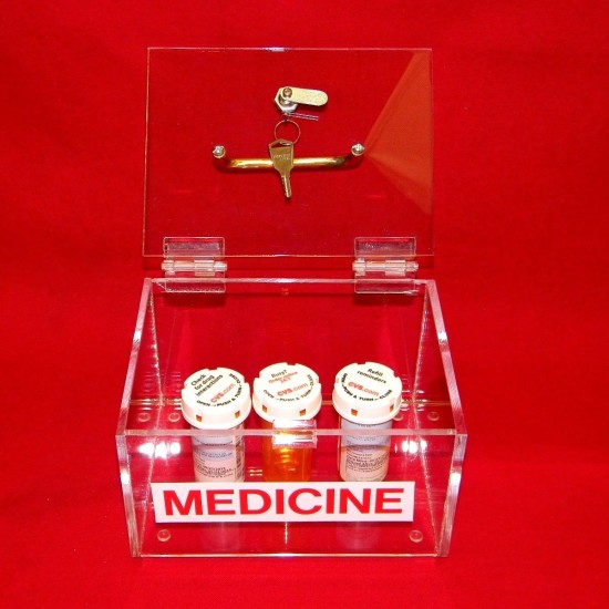Small Medicine Lock Box 3