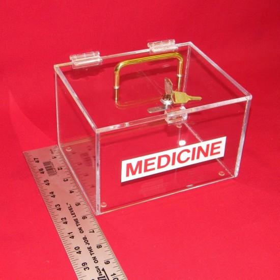 Large Medicine Lock Box 5